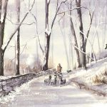 Shepherd Christmas Card