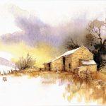 Barn Christmas Card